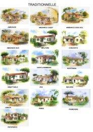 Toute la gamme Maisons COPRECO