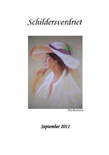 September September 2011 - Teken en schildergroep Roden