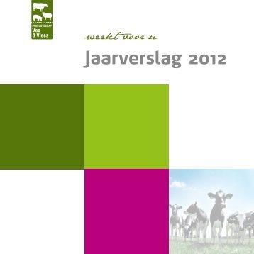 Jaarverslag PVV 2012 - Productschappen Vee, Vlees en Eieren