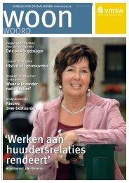 Werken aan huurdersrelaties rendeert - Vlaamse Maatschappij voor ...