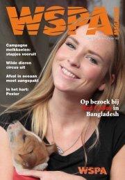 WSPA Magazine Voorjaar 2013