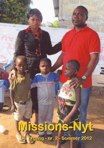 Missions-Nyt nr. 2 - 2012 med billeder - Missionsfonden