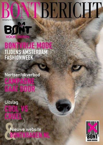 bontvrije mode campagne gaat door cool vs cruel - Bont voor Dieren