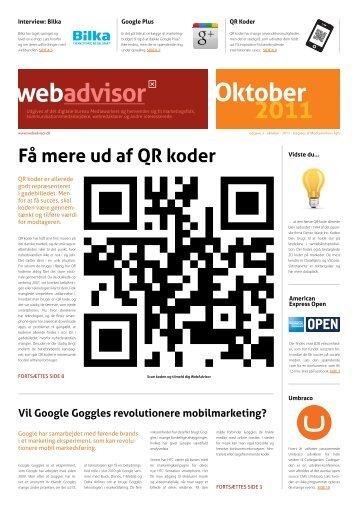 Oktober 2011 - Mediaworkers ApS