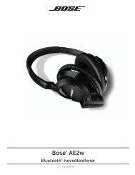 Bose® AE2w Bluetooth® hovedtelefoner
