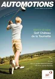 Golf Château de la Tournette - J&T Autolease
