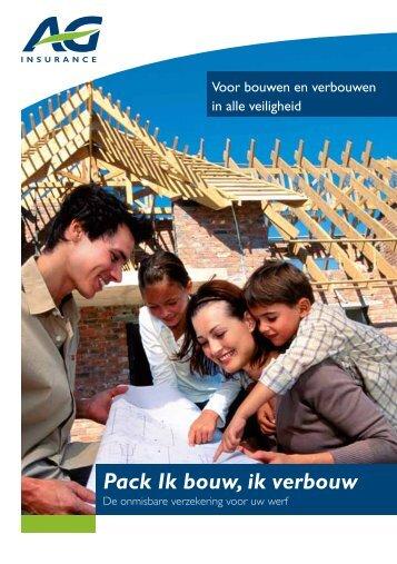 Pack Ik bouw, ik verbouw - AG Insurance