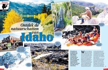 Ontdek de natuurschatten van Idaho - Target Travel
