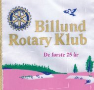 Rotary Club of Rochford - Stoustrup Collection