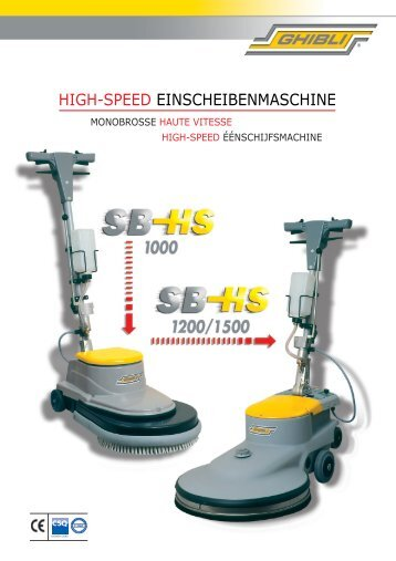 HIGH-SPEED EINSCHEIBENMASCHINE