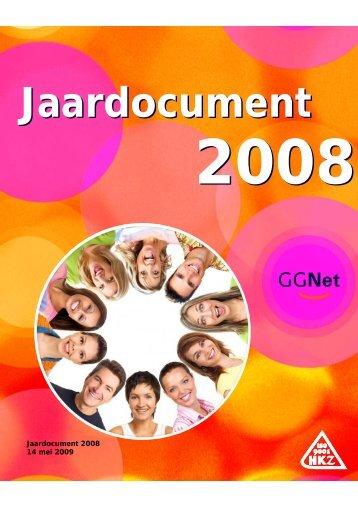 Jaardocument GGNet 2008