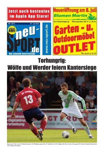 Torhungrig: Wölfe und Werder feiern Kantersiege - Neu-Sport