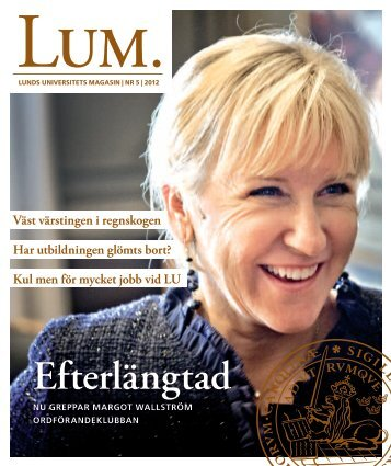 Efterlängtad - Lum - Lunds universitet
