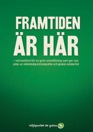 – valmanifest för en grön omställning som ger nya ... - Oskarshamn