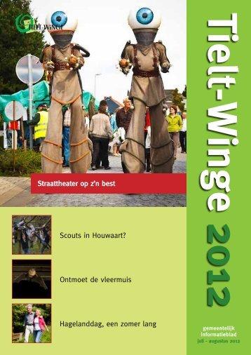 Scouts in Houwaart? - gemeente Tielt-Winge