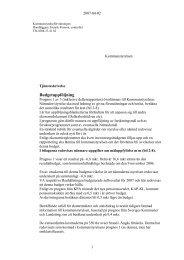 BUDG UPPF 2007 prognos 1.pdf - Orust kommun