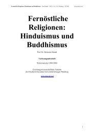 Fernöstliche Religionen: Hinduismus und Buddhismus - Kein-Plan.de