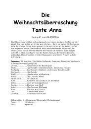 Die Weihnachtsueberraschung - Theaterverlag Arno Boas