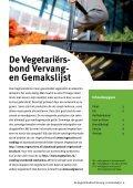 In plaats van... - De Vegetariërsbond - Page 2
