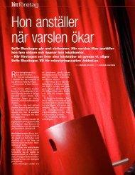 Privata Affärer, december 2008 - Jobbet.se