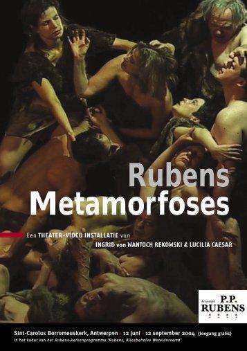 Rubens Metamorfoses - Erfgoedcel Antwerpen