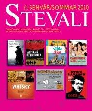 SENVÅR/SOMMAR 2010 - Stevali sales