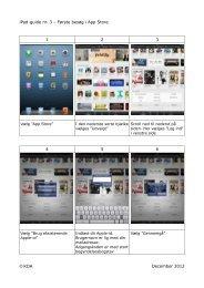 iPad-guide nr. 3 – Første besøg i App Store 1 2 3 4 5 6 ... - Tarm Skole