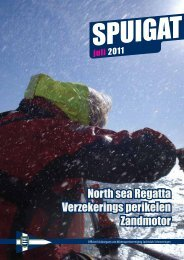 North sea Regatta Verzekerings perikelen Zandmotor - Jachtclub ...