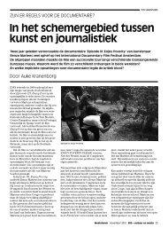 Auke Kranenborg - Mediafonds