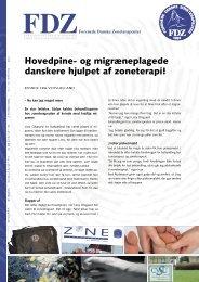 Migræneplaget kvinde fra Sydsjælland hjulpet af zoneterapi