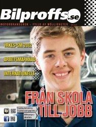innehåll 3: 2012 - Bilproffs