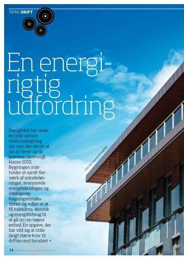 EnergiMidt har skabt en unik admini- strationsbygning, der som den ...