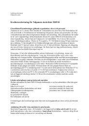 2 Samverkan mellan förskoleklass och skola - Lekeberg kommun