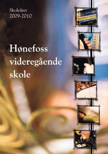 Innholdsfortegnelse - Hønefoss videregående skole