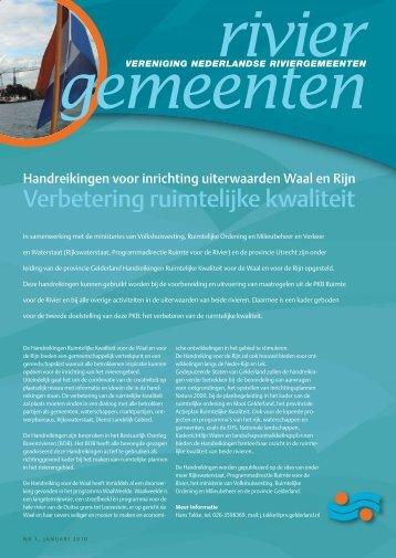 Nieuwsbrief januari 2010 - VNRgemeenten.nl