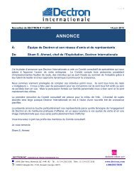 ANNONCE - Dry-O-Tron by Dectron