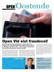 Open Oostende maart 2011 - Open VLD Oostende