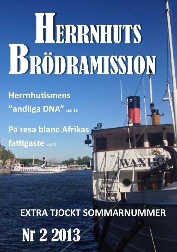 BRÖDRAMISSION HERRNHUTS - Evangeliska Brödraförsamlingen
