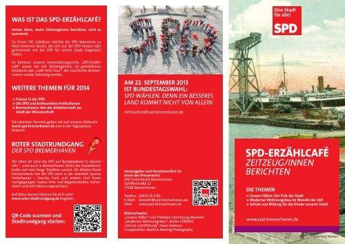 SPD-ERZÄHLCAFÉ - SPD Bremerhaven Mitte