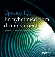 Uponor IQ: En nyhet med flera dimensioner.