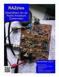 November - de PI4RAZ website