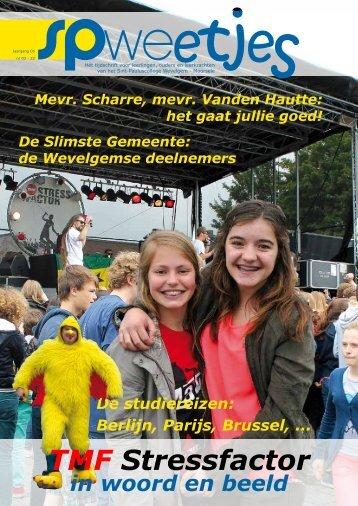 SPWeetjes - juni 2013 - Sint-Pauluscollege Wevelgem