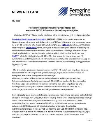 Peregrine Semiconductor Corp