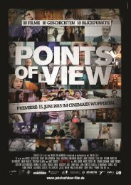 POINTS OF VIEW Pressemappe