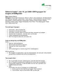 Referat 18. juni 2008 - Miljønetværk Syd
