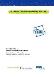 De Taallijn. Peuters Interactief met Taal - Sardes