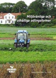 Miljömedvetna odlingsformer (pdf) - Försöksplatser