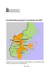 Inledning - Länsstyrelsen i Stockholms län