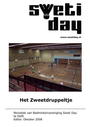 Zweetdruppeltje oktober 2008 - Sweti Day