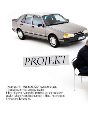 Ladda ner Automobils artikel om Saab 9000 - Klassiker